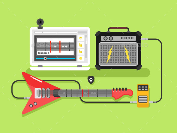 Learning Guitar Online - Computers Technology