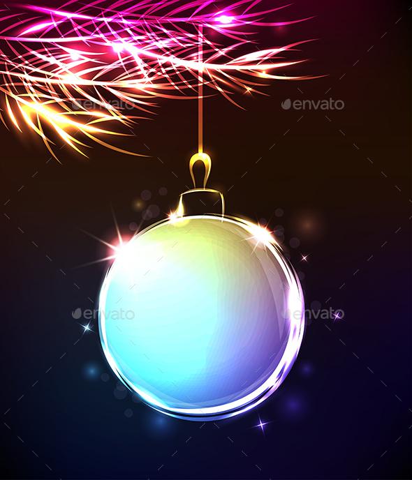 Abstract Christmas Decoration - Christmas Seasons/Holidays