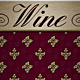 Wine: Fruit of the Vine - Red and Gold - GraphicRiver Item for Sale