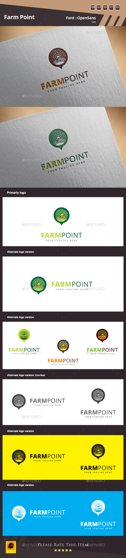 Farm Point Logo - Nature Logo Templates