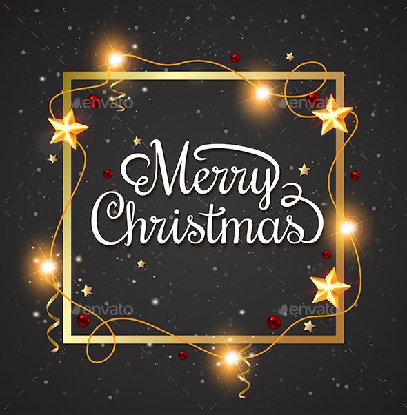 Decorative Christmas Frame  - Christmas Seasons/Holidays