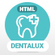 Dentalux | Dentist & Healthcare Site Template - ThemeForest Item for Sale