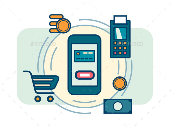 Contactless Mobile Payment - Retail Commercial / Shopping
