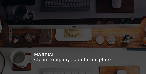 Image of Martial | Clean Company Joomla Template