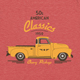 American Classic Car T-Shirt - GraphicRiver Item for Sale