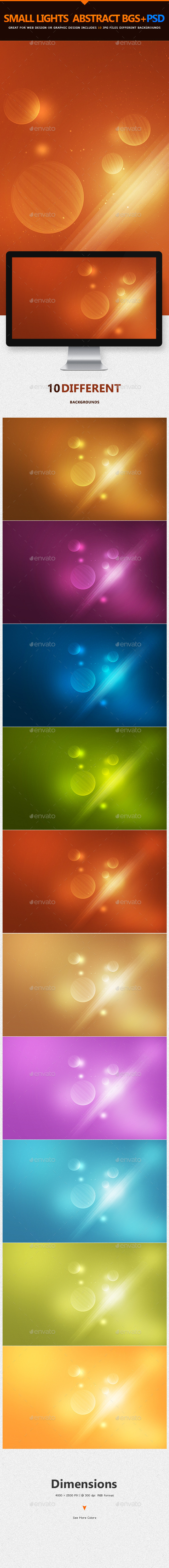 Small Lights Abstract Backgrounds | v2 - Abstract Backgrounds