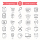 25 Shopping Line Icons - GraphicRiver Item for Sale