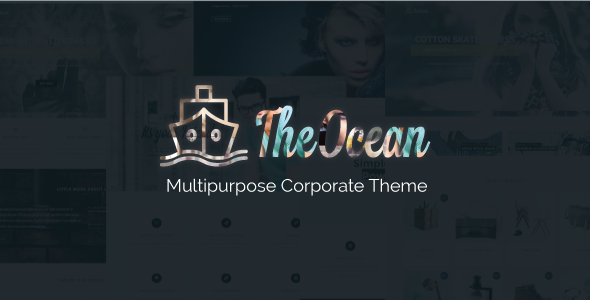 The Ocean – Multi Concept WordPress Theme