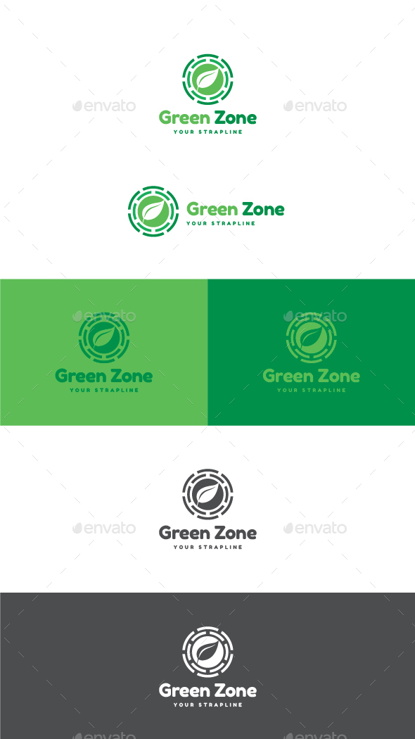 Green Zone Logo - Nature Logo Templates