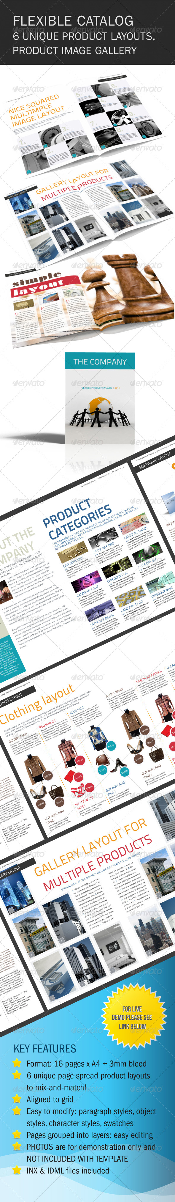 Flexible Product Catalog With Images - Catalogs Brochures
