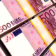 500 Euro Stacks. Money Background - VideoHive Item for Sale