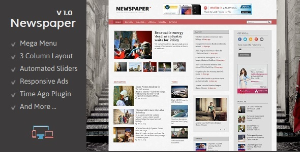 Newspaper responsive blogger template by templateszoo themeforest newspaper responsive blogger template blogger blogging preview images01maing maxwellsz
