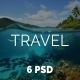 Travel E-newsletter Template - GraphicRiver Item for Sale