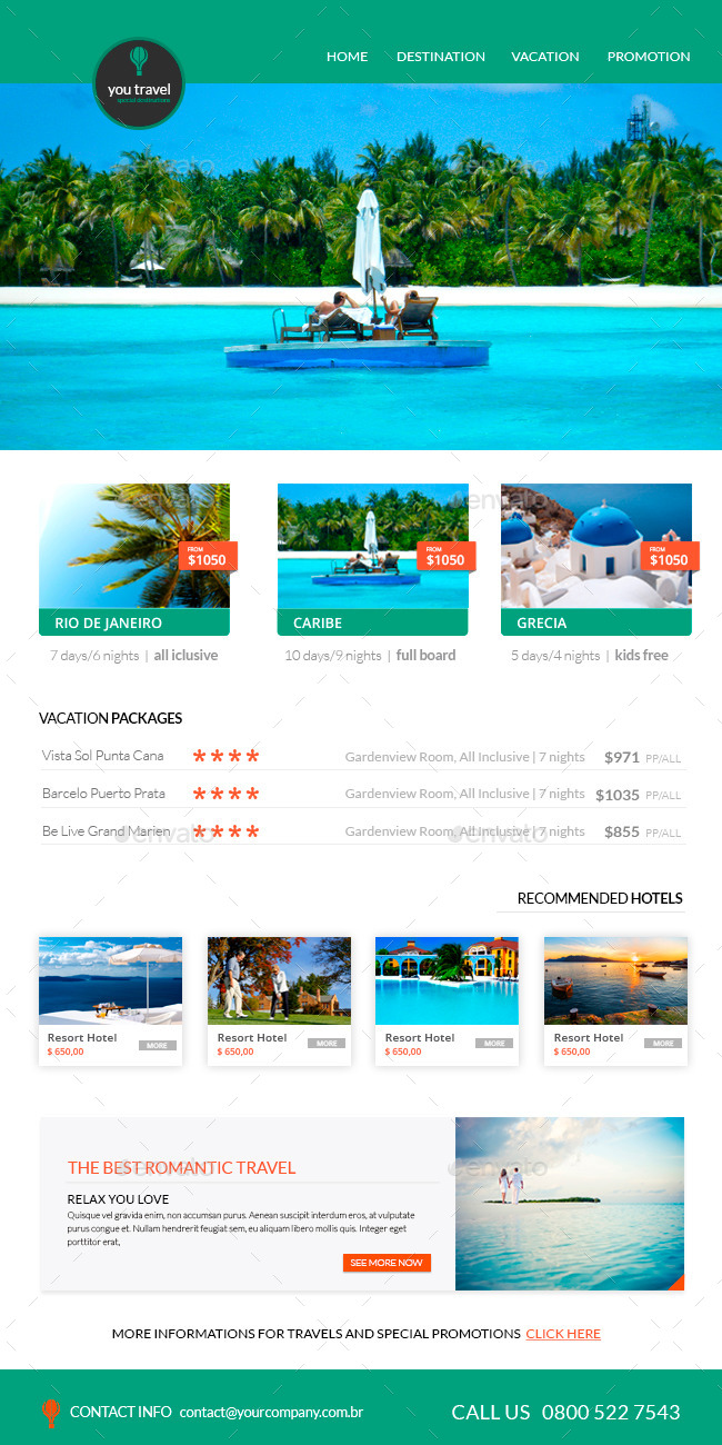 Travel Newsletter Templates  MaggiLocustdesignCo