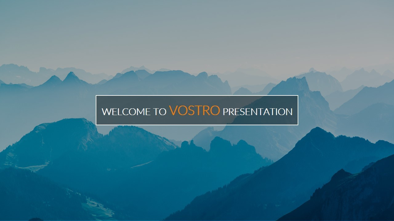 Vostro Google Slides Presentation Template By Toni GraphicRiver - Slide templates for google