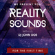 Reality Sounds - PSD Flyer - GraphicRiver Item for Sale