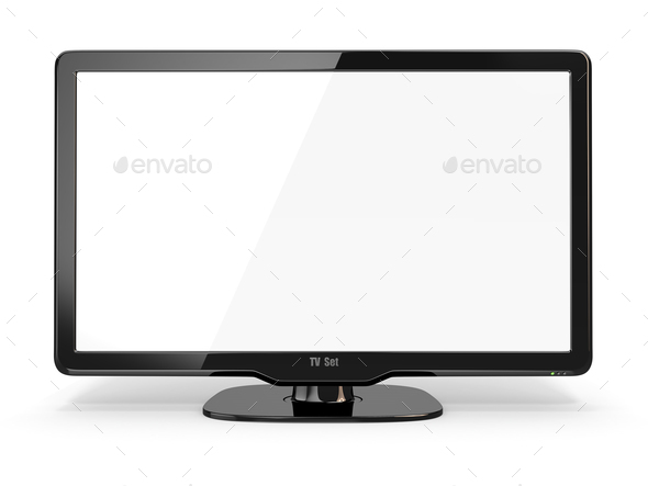 High Definition TV - Stock Photo - Images