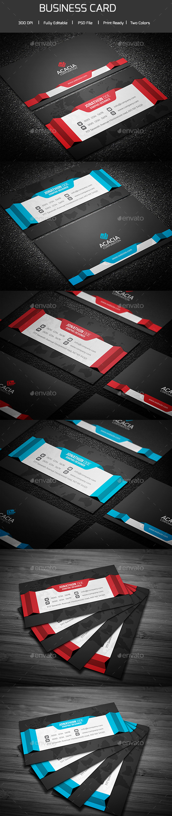 Creative Business Card - Creative Business Cards