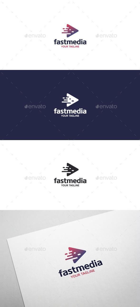 Fast Media - Logo Template - Symbols Logo Templates