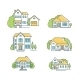 House Icon Set - GraphicRiver Item for Sale