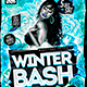 Flyer Winter Bash Konnekt - GraphicRiver Item for Sale