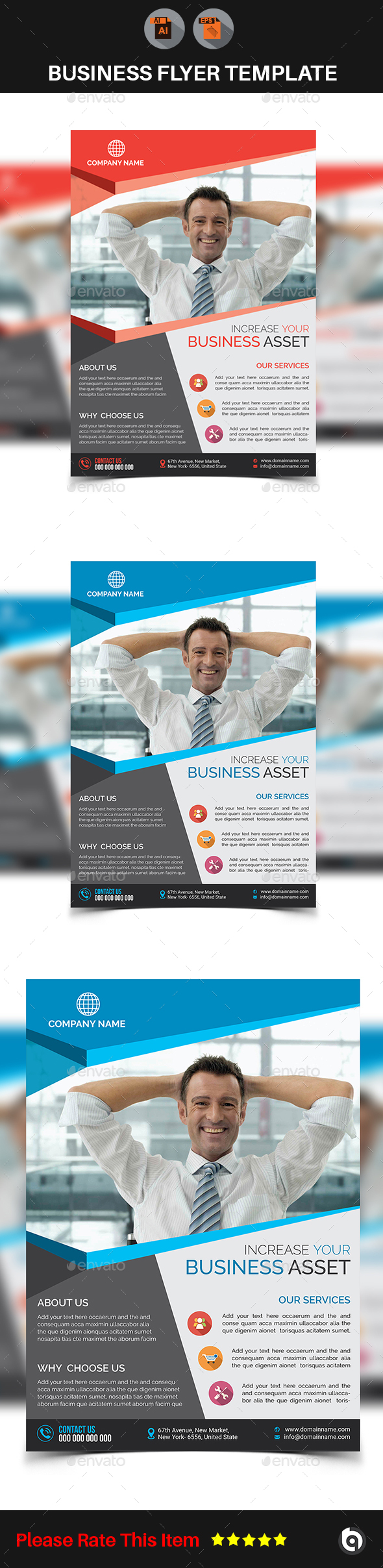 Business Flyer Template V2 - Corporate Flyers