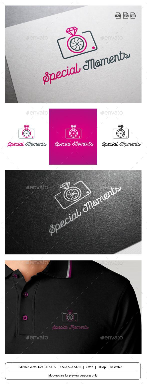 Special Moments - Symbols Logo Templates