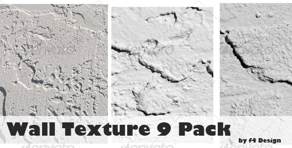 Wall Textures - 9 Pack - Stone Textures