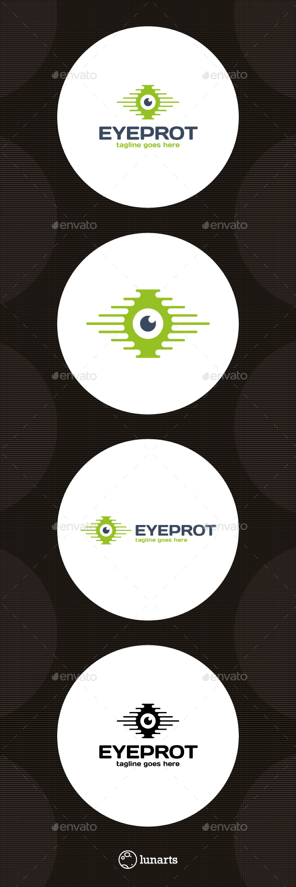 Secure Eye Logo - Symbols Logo Templates