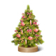 Decoration Christmas Tree Pine on Wooden Stand - GraphicRiver Item for Sale