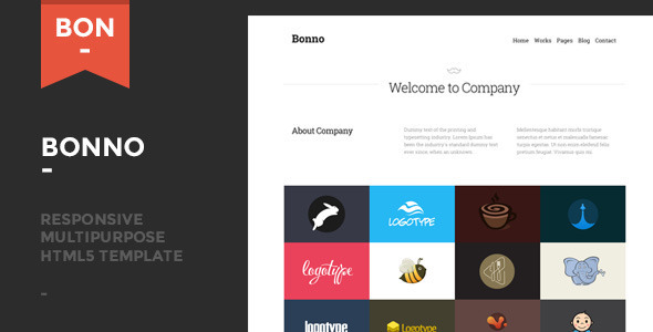 Bonno - Responsive Multipurpose Template - Corporate Site Templates