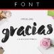 Gracias Typeface - GraphicRiver Item for Sale