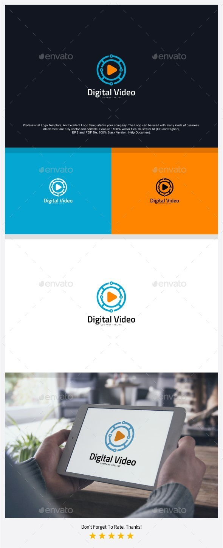Digital Video Logo - Symbols Logo Templates