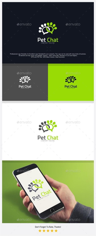 Pet Talk - Pet Blog Logo - Animals Logo Templates