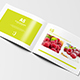 A5 Bi-fold Horizontal Brochure Mock-Up