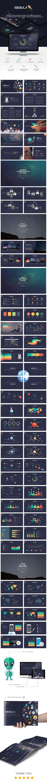 Nebula Keynote Presentation - Creative Keynote Templates