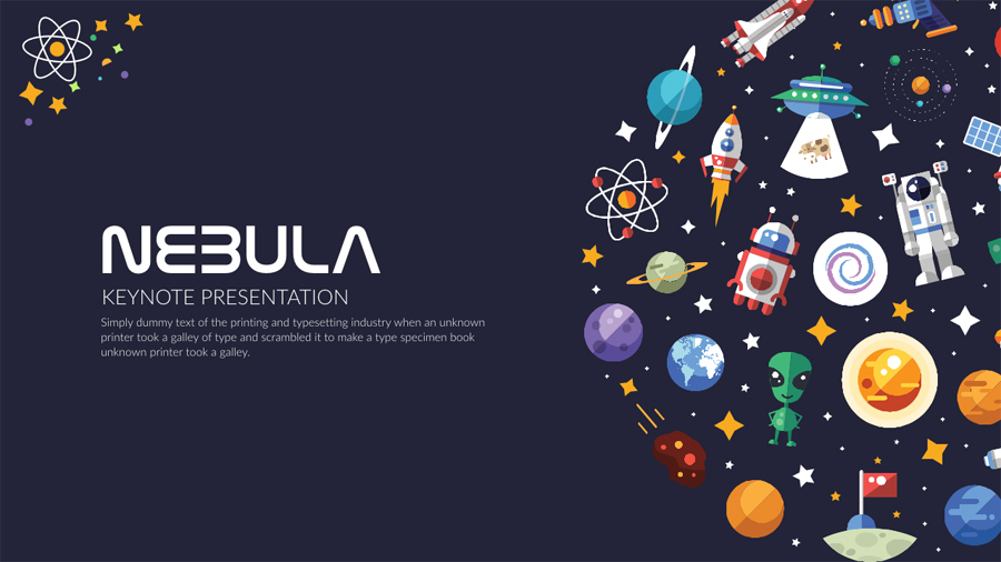 Nebula Keynote Presentation By Slidesquad  Graphicriver