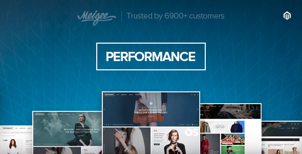 Performance – Responsive Magento Theme