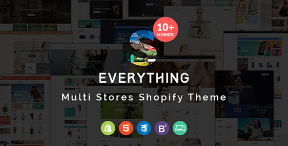 Everything – Multipurpose Responsive Shopify Theme