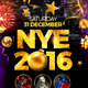 NYE 2016 Flyer - GraphicRiver Item for Sale