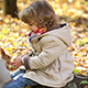 Child Feeds A Little Squirrel - VideoHive Item for Sale