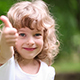 Happy Child Showing Thumbs Up - VideoHive Item for Sale