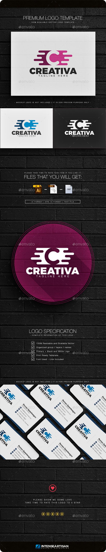 Creativa - Letter C Logo - Letters Logo Templates