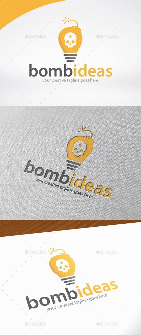 Idea Bomb Logo Template - Symbols Logo Templates
