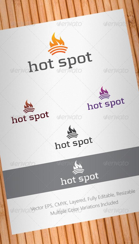 Hot Spot Logo Template V2 - Abstract Logo Templates