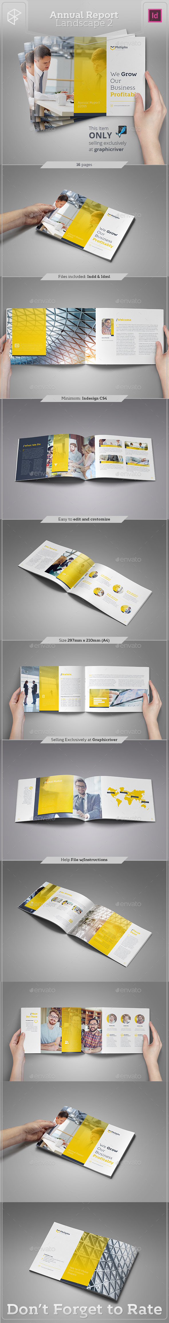 Annual Report Landscape 2 - Corporate Brochures