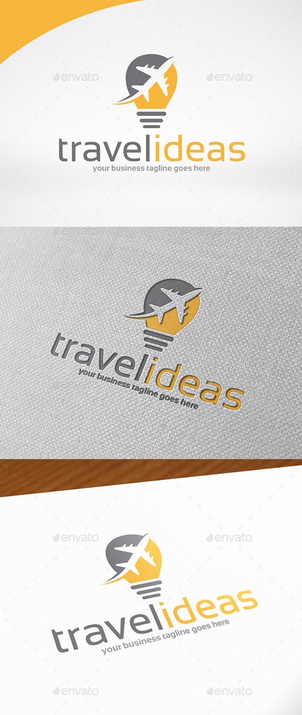 Tavel Idea Logo Template - Symbols Logo Templates