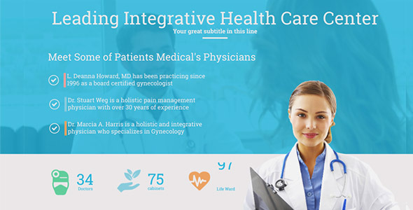 medical and healthcare presentation by clean promo videohive