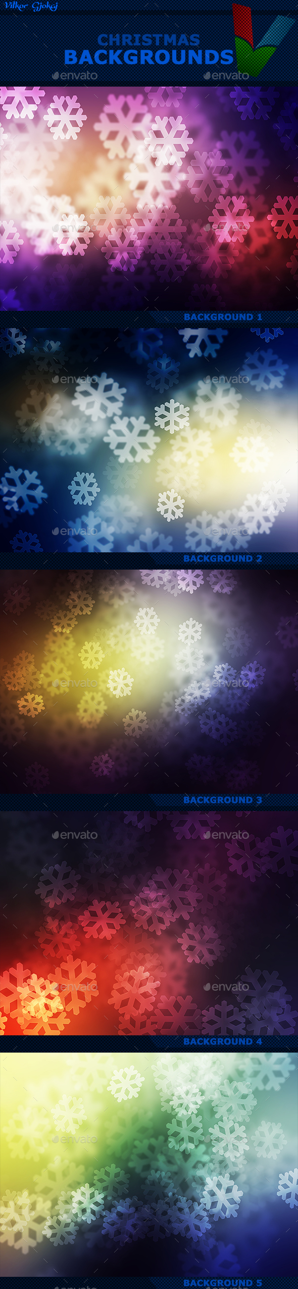 Christmas Backgrounds - Abstract Backgrounds