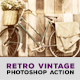 13 Photoshop Retro Vintage Action - GraphicRiver Item for Sale